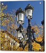 Bip Rambla Streetlight Acrylic Print