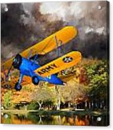 Biplane Series Acrylic Print