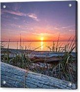 Birch Bay Sunset Acrylic Print