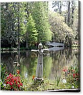 Bird Girl Of Magnolia Plantation Gardens Acrylic Print