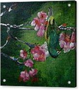 Bird N Blossom.... Acrylic Print