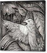 Bird Of Life Acrylic Print by Praphavit Premtha