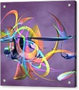 Bird-of-paradise - Abstract Acrylic Print