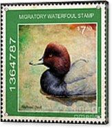 Bird Stamp Acrylic Print