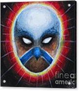 Bird Totem Mask Acrylic Print