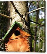 Birdhouse By Line Gagne Acrylic Print