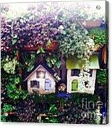 Birdhouses Acrylic Print