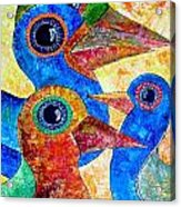 Birds 736 - Marucii Acrylic Print