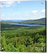 Bird's Eye View Of Eagle Lake Acrylic Print