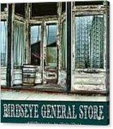 Birdseye General Store Acrylic Print