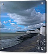 Birling Gap Beach Acrylic Print