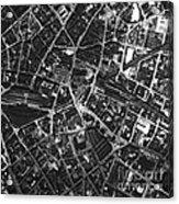 Birmingham, Historical Aerial Photograph Acrylic Print