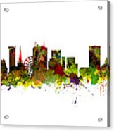 Birmingham Uk City Skyline Acrylic Print