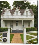 Birth Home Of Dwight D Eisenhower - Denison Texas Acrylic Print