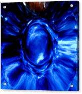 Birth Of Blue Acrylic Print