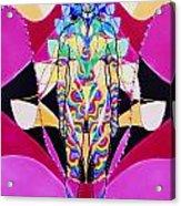 Birth Of The Flying Rainbow Lasagne Acrylic Print