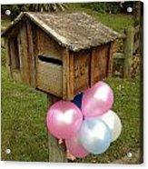 Birthday Balloons Acrylic Print