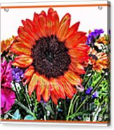 Birthday Bouquet Acrylic Print