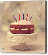 Birthday Cake Acrylic Print