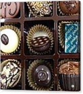 Birthday Chocolates Acrylic Print