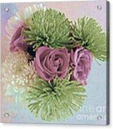 Birthday Flowers Three Acrylic Print