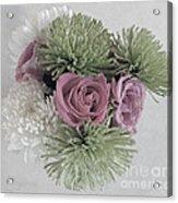 Birthday Flowers Two Acrylic Print