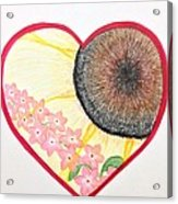 Birthday Heartgarden 20140727 Acrylic Print