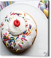 Birthday Party Donut Acrylic Print