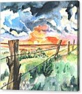Birthday Sunrise Acrylic Print