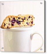 Biscotti And Coffee Acrylic Print