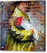 Biscuit Boy Acrylic Print