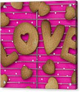 Biscuit Love Acrylic Print by Tim Gainey