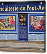 Biscuiterie In Pont Avon Acrylic Print