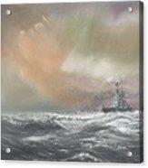 Bismarck Signals Prinz Eugen  Acrylic Print