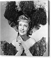 Bitter Sweet, Jeanette Macdonald, 1940 Acrylic Print