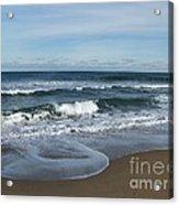 Winter Beach  Acrylic Print