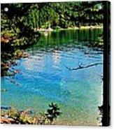 Bitterroot Lake Acrylic Print