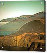 Bixby Bridge Digital Acrylic Print
