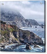 Bixby Bridge - Large Print Acrylic Print by Anthony Citro