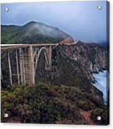 Bixby Bridge Acrylic Print