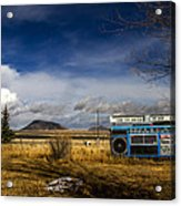 Bizarre Giant Radio In Idaho Acrylic Print