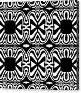 Pattern Black White Abstract Art No.301. Acrylic Print