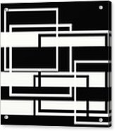 Black And White Art - 151 Acrylic Print