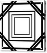 Black And White Art 175 Acrylic Print