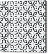 Black And White Designs Acrylic Print