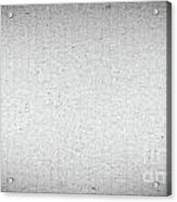 Black And White Grainy Background Acrylic Print