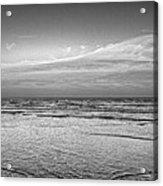 Black And White Seascape Acrylic Print
