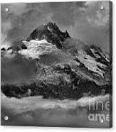 Black And White Tantalus Storms Acrylic Print