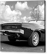 Black Beaut - Charger R/t Acrylic Print
