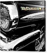 Black Bonneville Acrylic Print